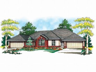 Multi-Family House Plan, 020M-0032