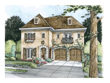Tuscan Home Plan, 031H-0218