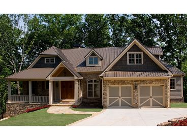 Ranch House Plan, 084H-0008