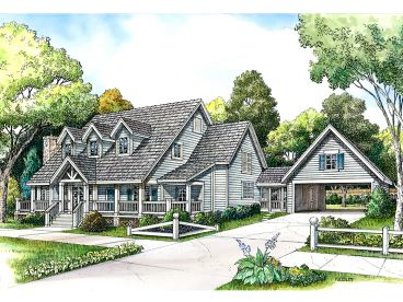 Country Home Plan, 008H-0015