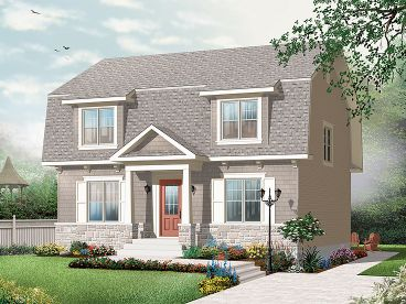 Unique House Plan, 027H-0277