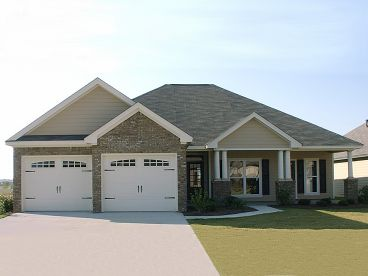 Ranch House Plan, 073H-0133
