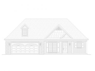 Empty-Nester House Plan, 062H-0059