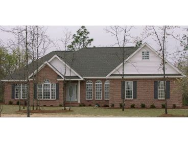 Traditional House Plan Photo, 073H-0015