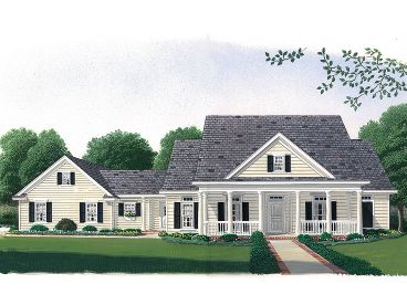 Country House Plan, 054H-0109
