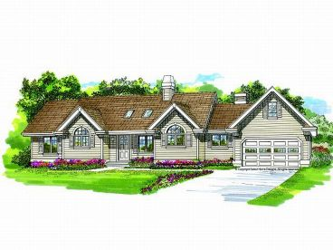 One-Story House Plan, 032H-0064