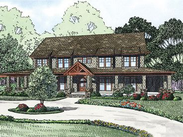 Craftsman House Plan, 025H-0225