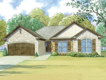 Ranch House Plan, 074H-0034