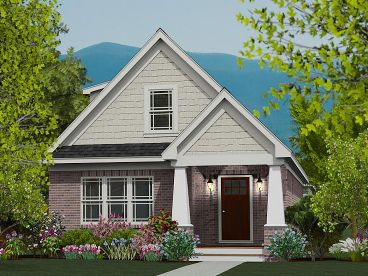 Craftsman Home, 062H-0028