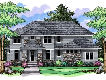 Contemporary House Plan, 023H-0129