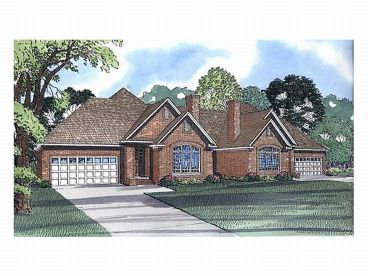 Duplex House Plan, 025M-0005
