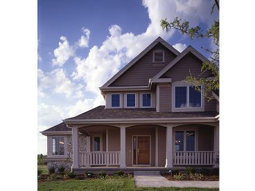 Traditional 2-Story Home, 022H-0093