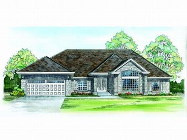 Ranch House Design, 032H-0046