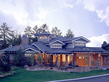 Craftsman Home Plan, 066H-0015