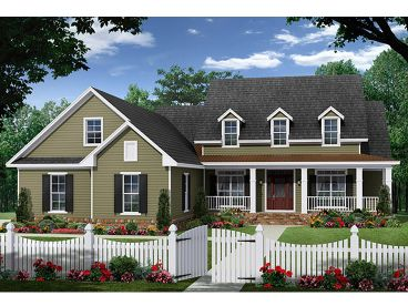 Country House Plan, 001H-0231