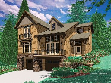Mountain House Plan, 034H-0020