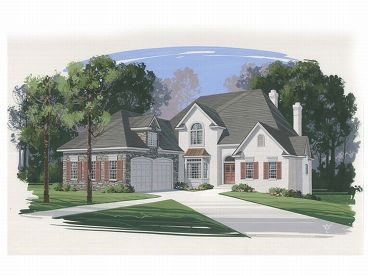 European Home Plan, 007H-0098