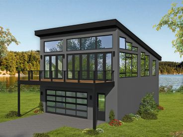 Carriage House Plan, 062G-0184