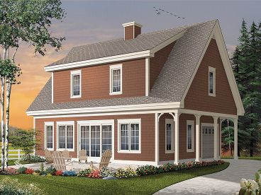 Plan W3064dcarriagegaragenarrow House Planshome Designs