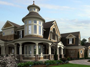 Luxury Victorian Home, 035H-0093