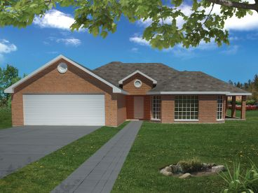 Affordable House Plan, 068H-0001