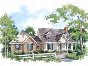2-Story House Plan, 004H-0074