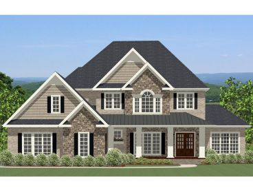 Two-Story Home Design, 067H-0048