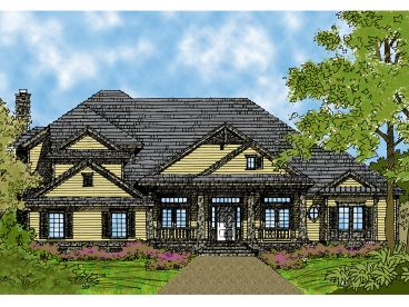 Two-Story Home Design, 043H-0193