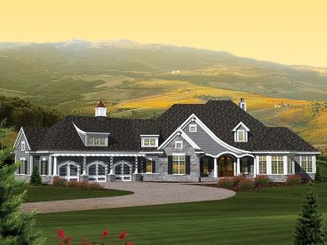 Unique Home Plan, 020H-0284