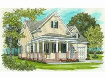 Ranch House Plan, 029H-0003