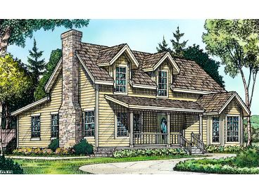 Country Home Plan, 008H-0039