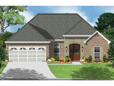 European House Plan, 060H-0003