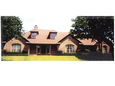 Ranch House Plan, 002H-0058