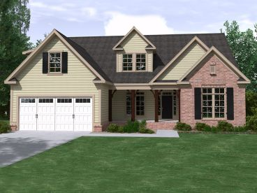 Family House Plan, 080H-0016