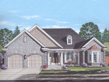 Ranch House Plan, 046H-0148