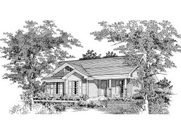 Small Ranch House, 061H-0010