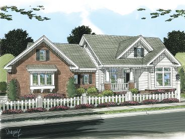 Family House Plan, 059H-0111