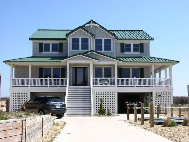 Beach Home Plan, 041H-0040