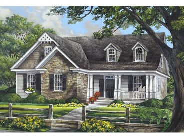 Two-Story Home Design, 063H-0111