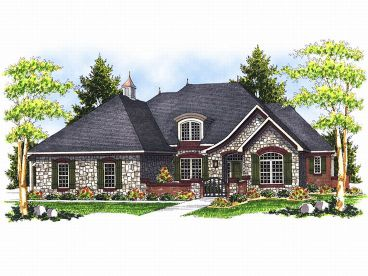 Luxury House Plan, 020H-0111