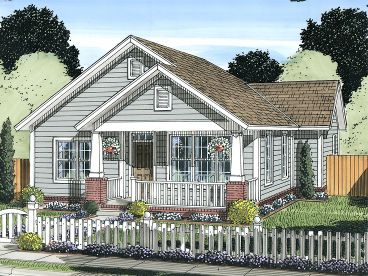 Cottage House Plan, 059H-0174