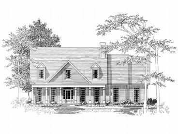 2-Story House Plan, 019H-0120