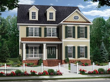2-Story Country House, 001H-0198