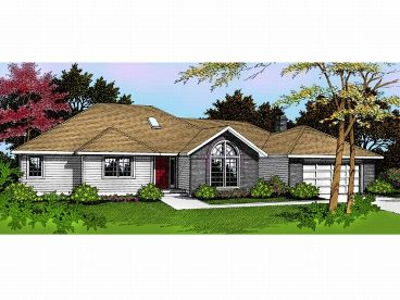 1-Story House Plan, 026H-0007