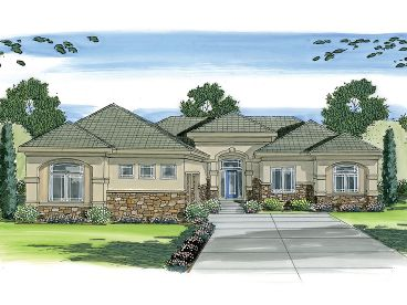 Contemporary House Plan, 050H-0017