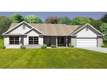 Affordable House Plan, 048H-0067
