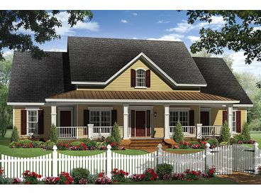 Country House Plan, 001H-0184