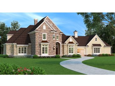 European House Plan, 021H-0251