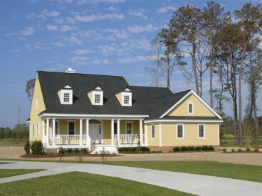 Country House Plan Photo, 063H-0048