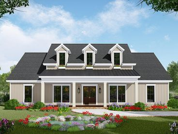 Country House Plan, 001H-0237